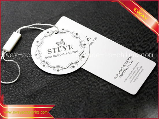 Women Clothing Hang Tag Nice Printing Brand Tag pictures & photos