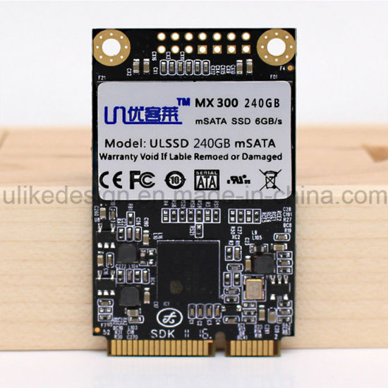 Msata SSD with Cache for Intel Samsung Gigabyte Thinkpad Lenovo Acer HP  Laptop Mini PC Tablet 240GB (SSD-015)