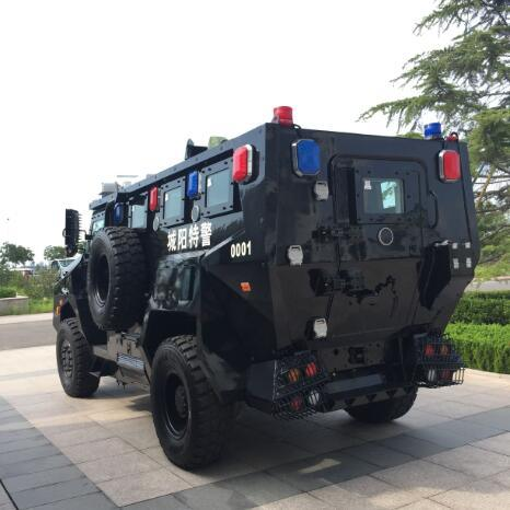 Sinotruk 4X4 Wheeled Armoured Vehicle with Bullet Proof for Police and Army pictures & photos