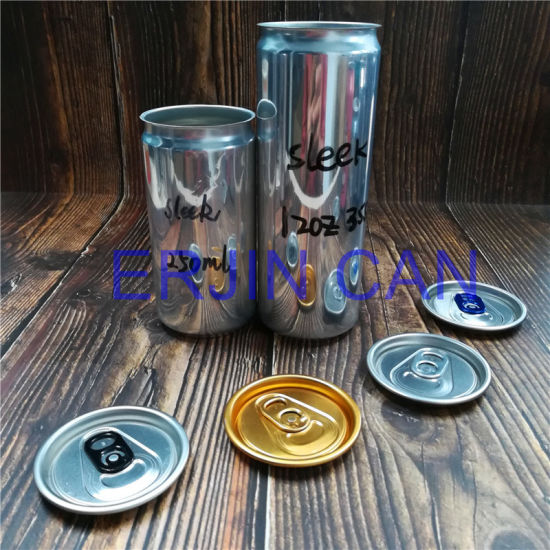 Mini Aluminum Can Sleek Slick Fit Slim Stubby Standard 250ml 8.3oz 8.4oz 12oz 355ml Can for Energy Drink Beverage
