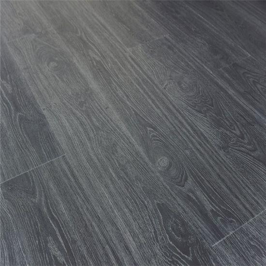 Dark Grey Flooring Spc Vinyl Plank