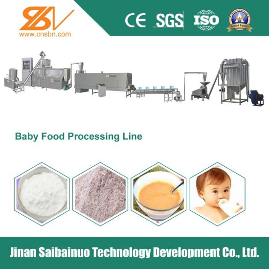 Baby Food Production Line Puree pictures & photos