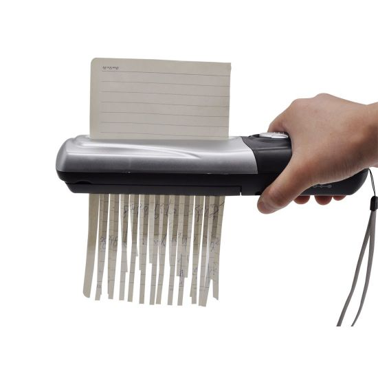 Portable Hand-Held Mini USB Paper Shredder for Home and Office