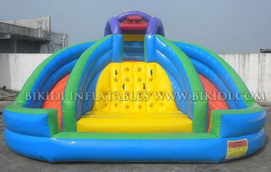 Inflatable Waterpark, Inflatable Fun Slide, Inflatable Aqua Slide, Slidy Bouncy
