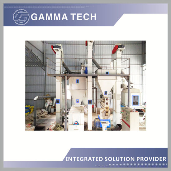 1-2t/H Chicken/Pig/Livestock/Poultry Cattle/Cow/Horse/Sheep/Fish Animal Feed Making Machine Plant