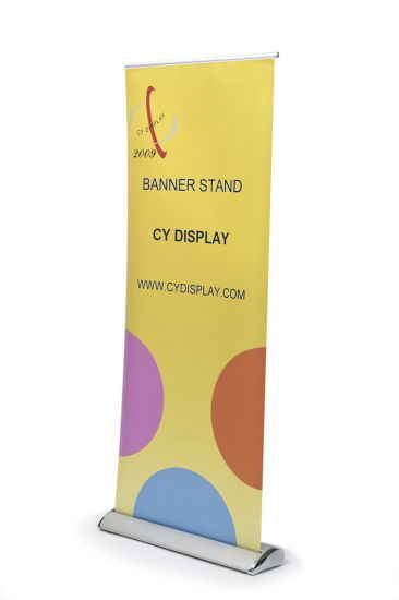 Dolphin Aluminum Roll up Display/Roll up Banner Stand pictures & photos