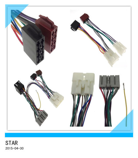 china adapter toyota automotive electric cable 16 pin iso wire rh starconnect en made in china com