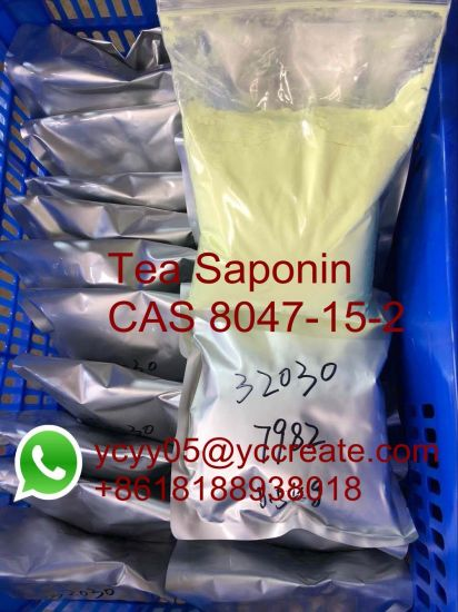 Natural Ingredient Tea Saponin Raw Powder CAS 8047-15-2 pictures & photos
