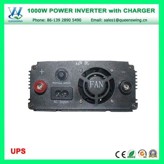 1000W DC12V AC220V Solar Power Inverter with UPS Charger (QW-M1000UPS) pictures & photos