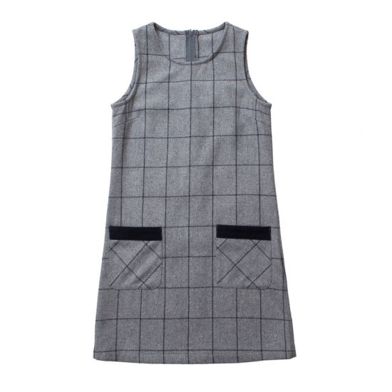 Girls School Lycra 2 Button Pinafore New for 2011