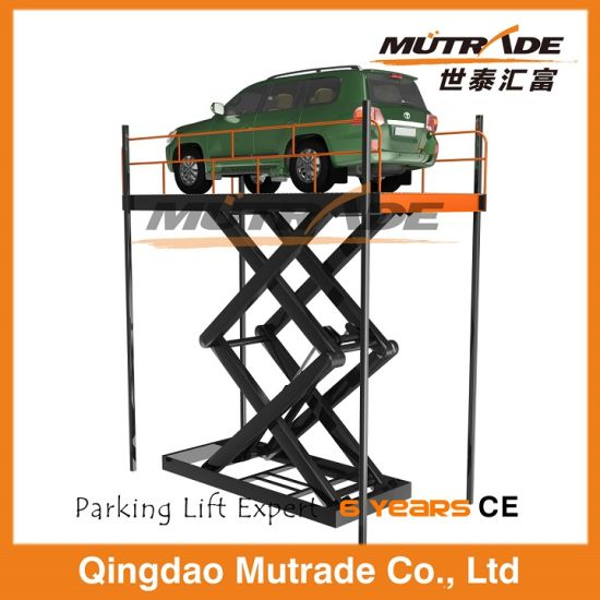Scissor Type Vertical Hydraulic Car Elevator Lift pictures & photos
