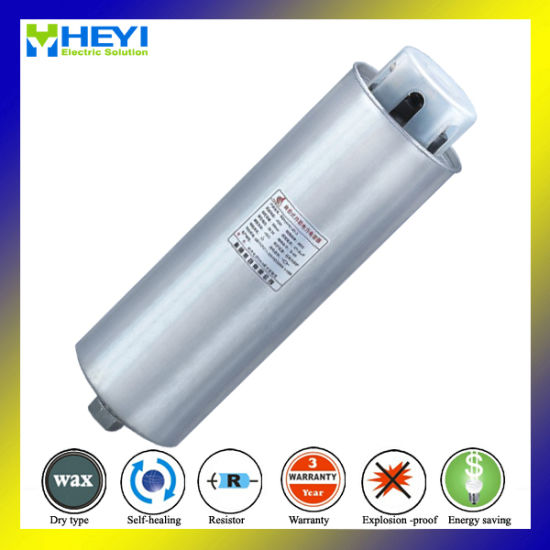 Three Phase 440V 15kvar Cylinder Reactive Power Capacitor with Ce
