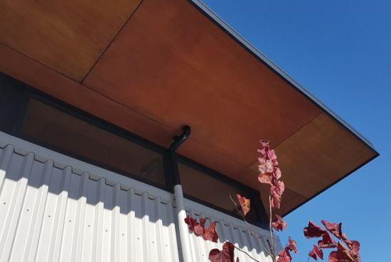 Hpl Veneer Slice Cut Wood Veneer Plywood Roof Ceiling
