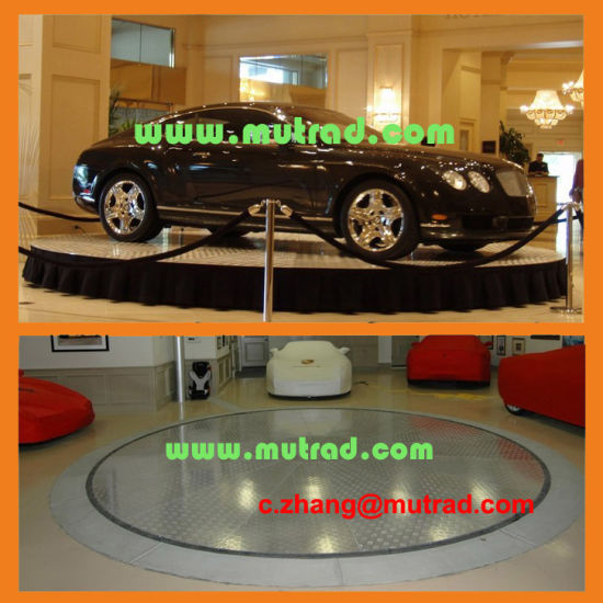 Car Auto Show High End Quality Smart PLC Car Turntable Rotating Car Revolving Platform pictures & photos