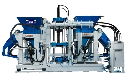 Zenith Model 1500 Champion Fully Automatic Single Pallet Concrete Block Machine pictures & photos