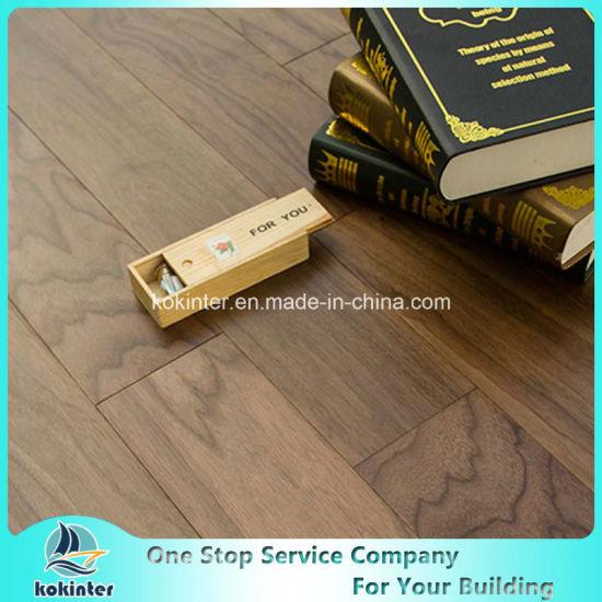 Kok Hardwood Flooring Engineered Red Valnut-Natural