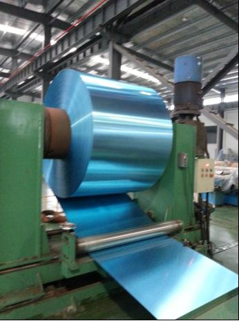 Aluminum/ Aluminium Blue Hydrophilic Finstock Strip/Tape for Air Conditioning