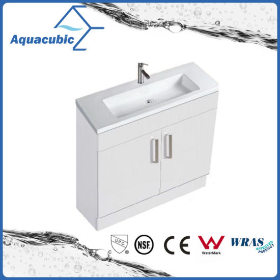China 24 Inch Vanity Cabinet In White