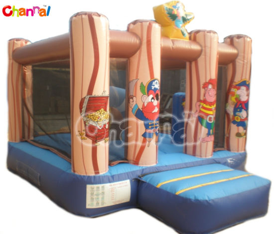 Mini Pirate Theme Activity Bouncy Castle/Inflatable Air Jumper Bb107