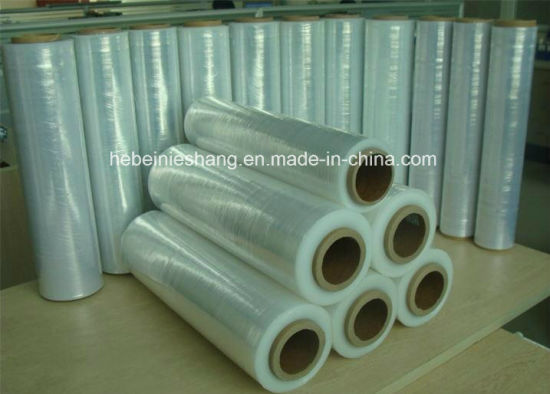 Transparent LLDPE Cast Stretch Film for Pallet pictures & photos