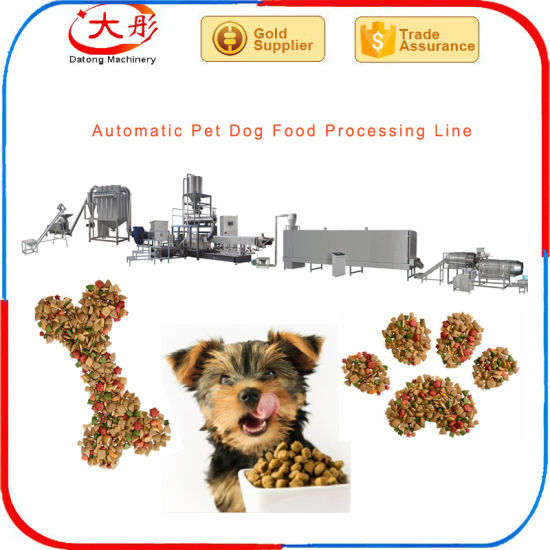 New Design Pet Dog Food Making Machine Processing Line