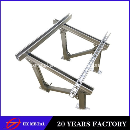 Wholesale High Quality Hot Roll Galvanized Steel Solar Panel Photovoltaic Accessories Stents