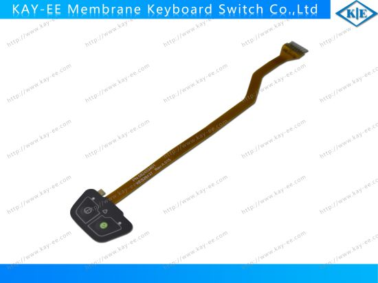 Customized Tactile Prototype Membrane Switch Keypad with LEDs for Industrial Machine