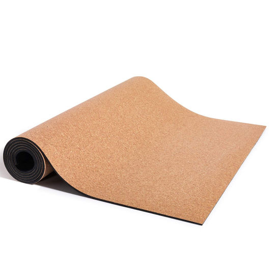China Personalised 1 2 Inch Thick Portable Tpe Cork Yoga Mat Sustainable Bulk Sale China Cork Tpe Yoga Mat And Portable Yoga Mat Price