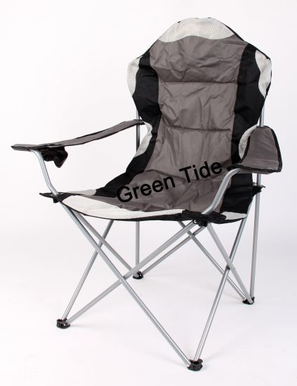 Hot Sale Outdoor Oxford Folding Arm Camping Chair for Beach pictures & photos