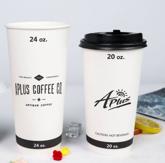 Wholesale Custome Single /Double/Ripple Paper Cup Coffee Mug