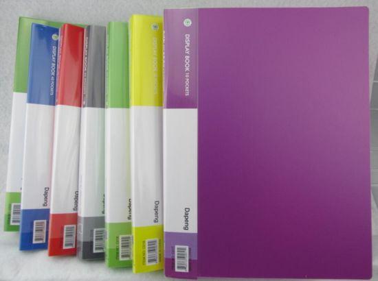 A4/FC Colorful Display Book/ Clear Book (F-A030) pictures & photos