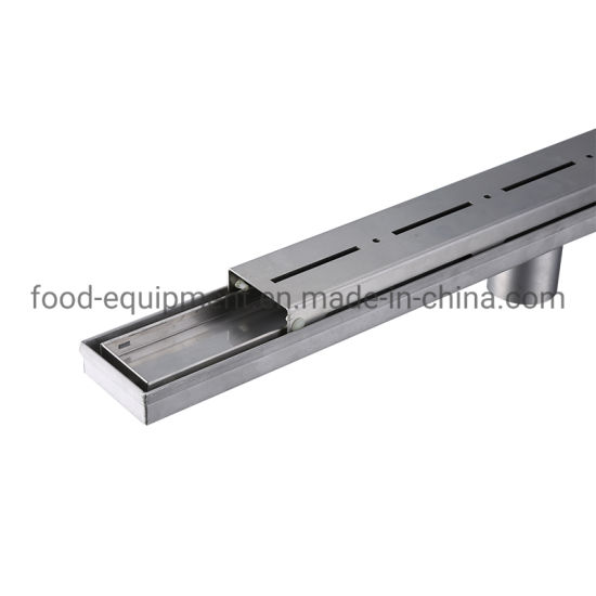 Linear Bath Room Stainless Steel Shower Drain Trench Drain Cover