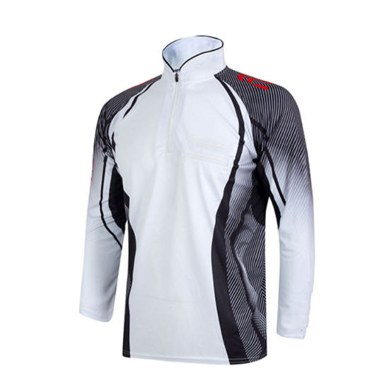 Breathable Fishing Clothes Long Sleeve T-Shirt and Jacket with Best Design Good Materials