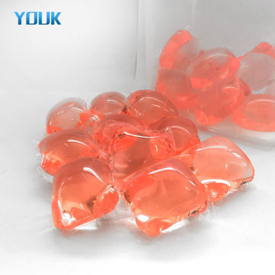 OEM New Innovation Products Household Portable Clothes Washing Liquid Shape Laundry Detergent Pods