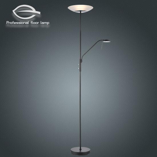 Matt Black Mother and Child Floor Lamp /LED/Decoration/Light/Lighting/Lamp