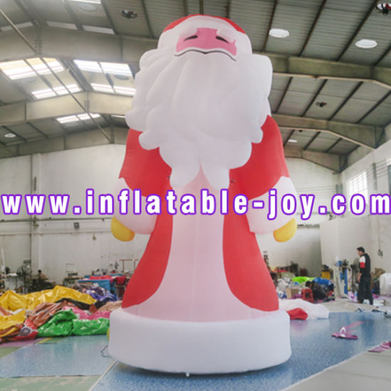 4m/5m/6m Huge Inflatable Christmas Santa for Christmas Decoration, Cheap Inflatable Old Man Model