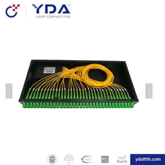 FTTH Sc Upc APC Rack Optical Cable Splitter
