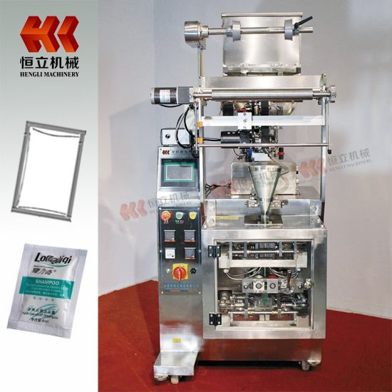 Four Side Sealing Vertical Packaging Machine for Liquid and Sauce with Pump pictures & photos