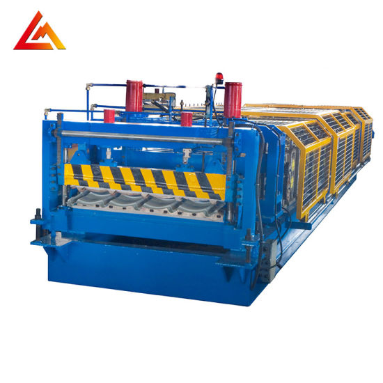 High Speed Glazed Tile Roof Roll Forming Machine