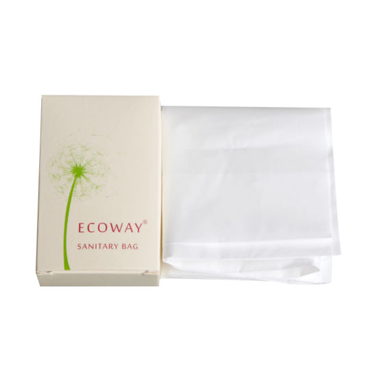 Cheap Hotel Disposable Sanitary Bag for Ladies Office Use