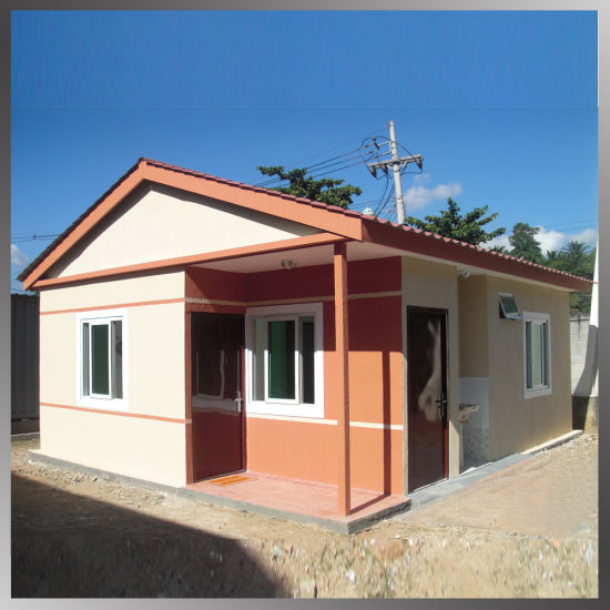 China Small Pre Prefabricated Houses Prefab Luxury Light Steel