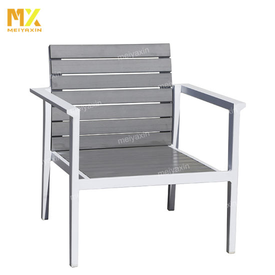 Modern Aluminum Frame with Textilene Fabric Seat
