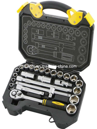"25PCS Professional Hand Tool Set Cr-V Steel 1/2"" Drive Socket Set pictures & photos"