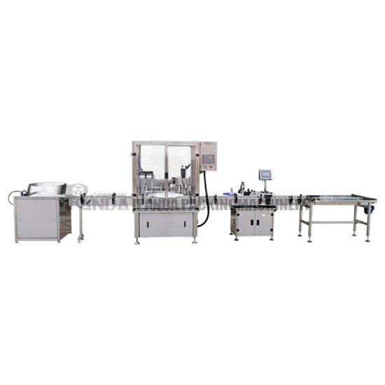 Automatic 10ml 30ml Liquid Essential Oil Bottle Sealing Packing Machine