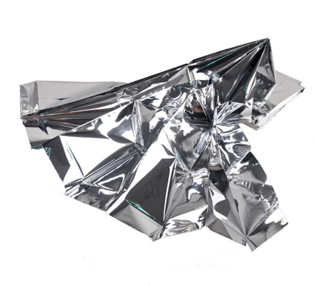 Earthquake Foil Survival Aluminum Rescue Mylar Emergency Blanket pictures & photos