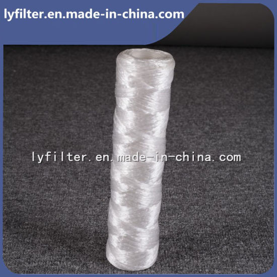 Manufacturer String Wound PP cartridge Water Filter Cartridge with 5 Micron