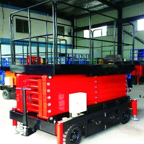 6m Mobile Hydraulic Scissor Lift (Standard Model) pictures & photos