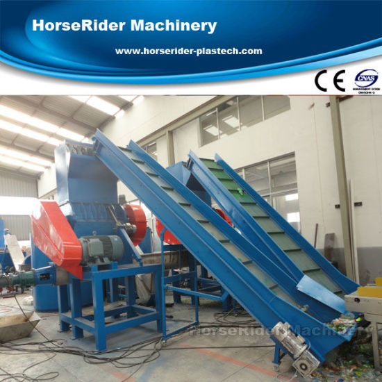 New Technology Pet Bottle Flakes Washing Recycling Production Line