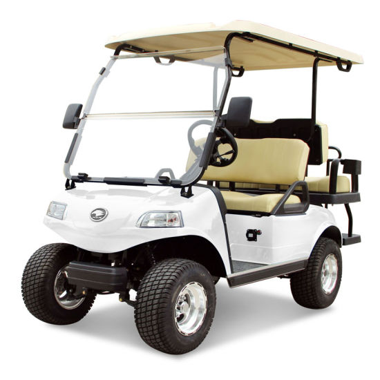 Electric Golf Cart (DEL3022G2Z, 2+2-Seater)