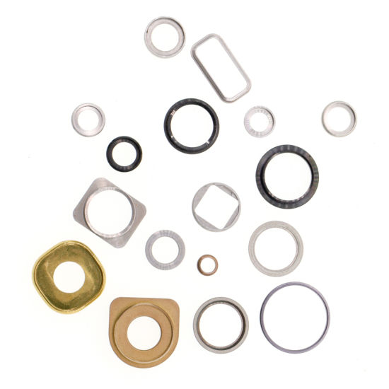High Precision CNC Acrylic Metal Aluminum Composite Material Mobile Phone Parts